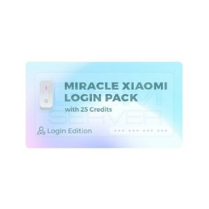 Miracle Xiaomi Tool Pack (Login Edition) com 25 créditos