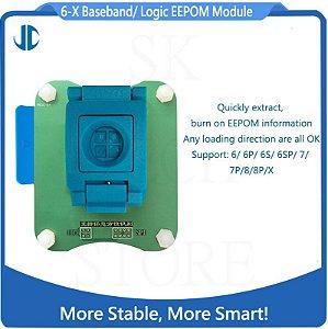 Adaptador JCID PRO 1000s - Leitor e Programador de EEPROM IC BASEBAND para Iphone 6 ao X