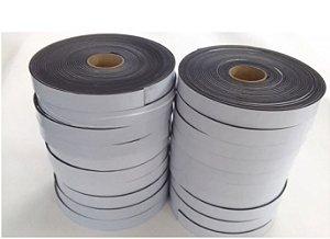 Fita de Vedação em Espuma de EPDM Preto - 3mm x 20mm x 10m - KIT COM 20 ROLOS