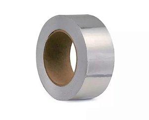 Fita de Alumínio Adesivo 1 lado 50 micra x 50mm x 50 metros