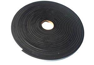Fita de Vedação em EVA Preto - 10mm x 15mm x 10m