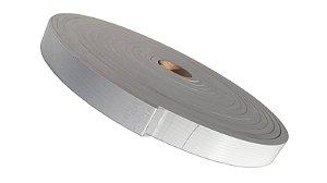 Fita de Vedação em EVA Cinza - 5mm x 30mm x 10m