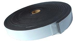 Fita de Vedação em EVA Preto - 10mm x 34mm x 10m