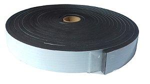Fita de Vedação em EVA Preto - 10mm x 50mm x 10m