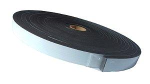Fita de Vedação em EVA Preto - 12mm x 25mm x 5m