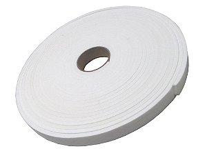 Fita de Vedação em EVA Branco - 10mm x 25mm x 10m