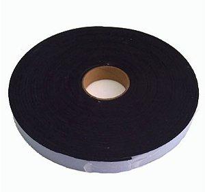 Fita de Vedação em Espuma de PVC Preto - 2mm x 20mm x 10m