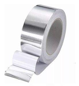 Fita de Alumínio 50 micra x 50 mm x 50 metros