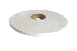 Fita de Vedação em EVA Branco - 3mm x 8mm x 10m