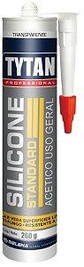 Adesivo de Silicone Tytan Standard  260G Incolor Uso Geral