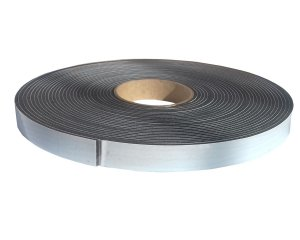 Fita de Vedação em PVC Preto Adesivado 1 face - 03mm x 20mm x 10m