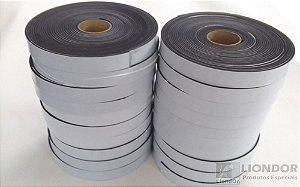 Fita de Vedação em Espuma de EPDM Preto - 2mm x 30mm x 10m - KIT COM 20 ROLOS