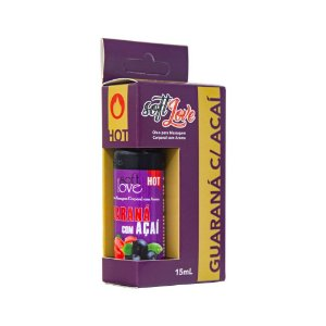ÓLEO AROMA GUARANÁ COM AÇAI HOT 15mL