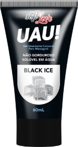 UAU! BLACK  ICE GEL UMECTANTE 60mL