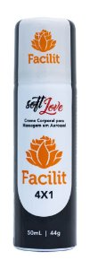 FACILIT 4X1 CREME MASSAGEM AEROSSOL 50mL