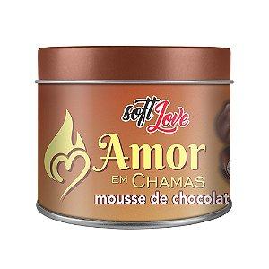 AMOR EM CHAMAS MOUSSE DE CHOCOLATE VELA AROMÁTICA 50g