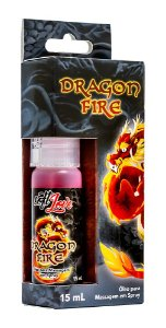 DRAGON FIRE ÓLEO MASSAGEM SPRAY 15mL
