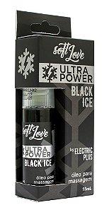 ULTRA POWER BLACK ICE ÓLEO MASSAGEM SPRAY 15mL