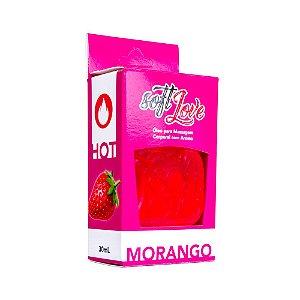 Óleo aroma Morango Hot 30ml