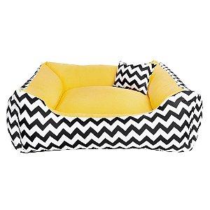 Cama para Cachorro ou Gato - 100% lavável -60x60  Bed Banana