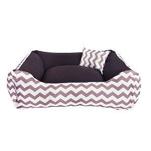 Cama para Cachorro ou Gato - 60x60 Bed Cofee 100% lavável