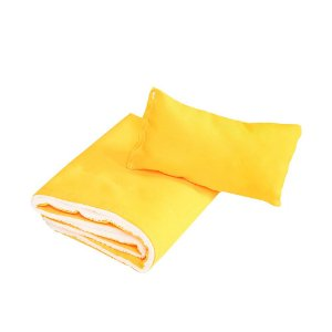 Cobertor Dupla Face Cachorro e Gato Pet Edredom - Amarelo