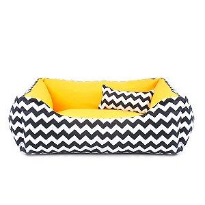 Caminha Pet Cachorro Gato 70x70 - Amarela