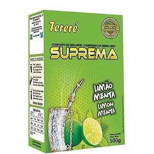 Erva Mate Tereré Limão e Menta 500 Gr - Suprema