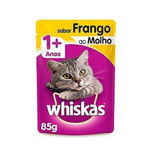 Whiskas Sachê Frango ao Molho 85 G