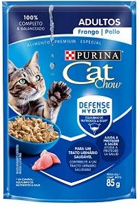 Cat Chow Sachê Adultos Frango 85 Gr