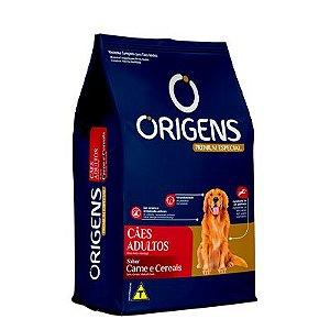 Origens Cães Adultos Médios e Grandes Carne e Cereais 15 Kg