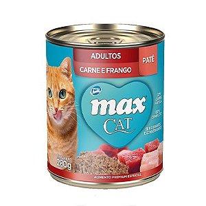Max Cat Wet Adulto Carne e Frango 280gr