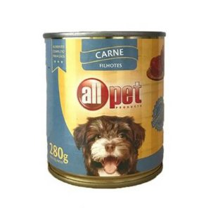 Enlatado Cão Sabor Carne Filhotes 280g - All Pet