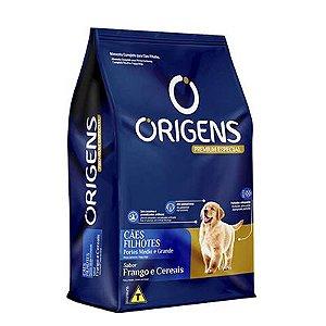 Origens Cães Filhotes Médios e Grandes 15 Kg