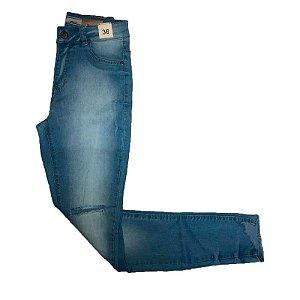 Calça Feminina Post Jeans Skinny Cint. Alta Ref. 8041101