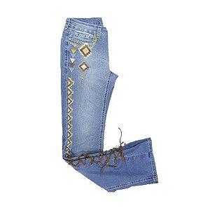 Calça Feminina Tassa Boot Cut Azul Ref. 4406cf0 - V1