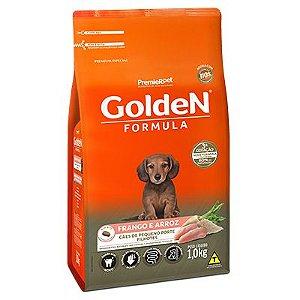 Golden Fórmula Cães Filhotes Mini Bits Frango e Arroz
