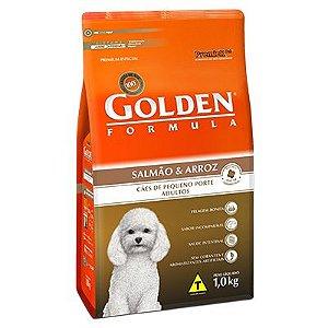 Golden Fórmula Cães Adultos Mini Bits Salmão