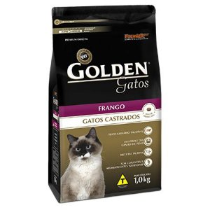 Golden Gatos Castrados Frango