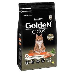 Golden Gatos Castrados Salmão