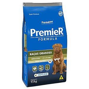 Premier Fórmula Cães Adultos Raças Grandes - Cordeiro