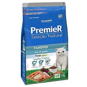 Premier Seleção Natural Gatos Filhotes - Frango