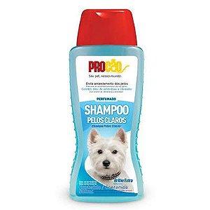 Procão Shampoo Cães e Gatos Pelos Claros 500 Ml