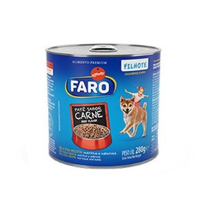 Faro Lata Filhote Carne 280gr