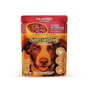 Special Dog Sachê Filhote Carne 100gr
