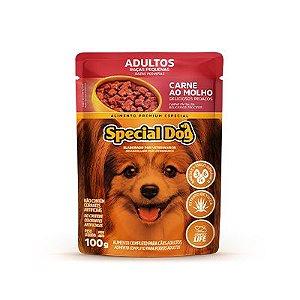 Special Dog Sachê Raças Peq Carne 100gr