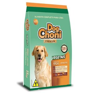 Dog Choni Vegetais