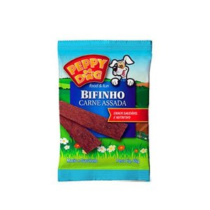 Peppy Dog Bifinho Carne Assada 65 Gr
