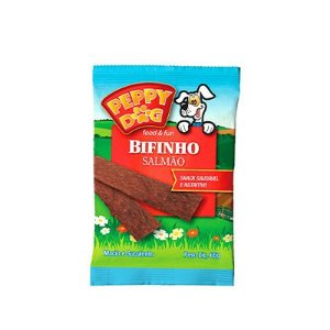 Peppy Dog Bifinho Salmão 65 Gr