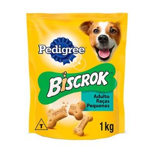 Pedigree Biscrok Mini Adulto Raças Pequenas 1 Kg